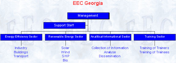 Structure of Energy Efficiency Centre